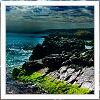 Sky: [other] rocky shore