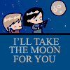 [Remus/Sirius] I'd Take the Moon For