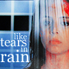 the girl who used to dance on fire and brimstone: ats//faith tears in rain - me