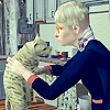 Melly: Lucus + Cookie [sims 2]
