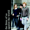 Amber: harry potter | hermione & ron