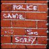 Graffiti - so sorry