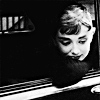actress ; audrey ; wistful