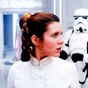 Leia and Stormtrooper.  OTP?