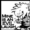 lijahlover: Calvin Evil Laugh