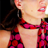 how long do you have to live, karen?: [angel] cordy polkadot scarf