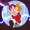 O, Hai!: Futurama LeelaFryKiss by paper_spaceship