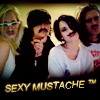 one sweet thing: demi: SEXY MUSTACHE ™