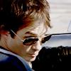 Vickie: Ian - Damon Driving Smirk