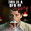 Shannon: Cas' den of iniquity