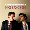 tv: white collar pro & con