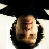 Queen of the Dirty Look: Sherlock upside down