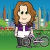Senora Sassafrass: Missy + Bike