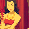 Princess Azula of the Fire Nation: leaning is an art form