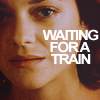 B: waiting for a train - moll {INCEPTION