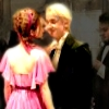 Draco and Hermione dancing