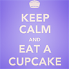 cupcake, keep calm