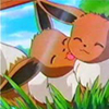 Friendly Eevee kiss
