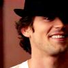 Mel: White Collar - Neal (hat grin)