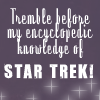 *: text [star trek geek]