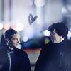 [SH] John/Sherlock blue heart
