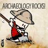 Calvin Hobbes archaeology