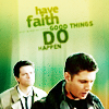supernatural, dean & cas
