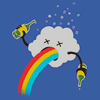 booboomagoo: Stock - Drunk Rainbows