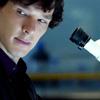Queen of the Dirty Look: Sherlock lab smirk