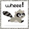 wheeeraccoon by toocuteicons