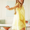 Linny: child { kenzie in the yellow dress }