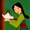 Mulan Fa: tea; happy
