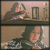 Snape writing
