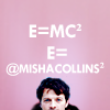 i'm chris, not dustin (bella): silly: castiel: misha is emc2