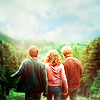 Ron and Hermione, Harry
