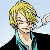 Sanji: cool smile