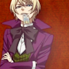 ☪ alois trancy.: ✍ i'm high and dry and kicked to the