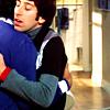 howard/raj hug