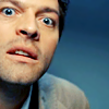 Hide-fan: [SPN] Castiel funny face