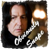 Obviously Snape