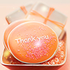 Between the Mountains and the Sea: Stock Orange Thank You