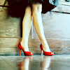 Asta: pic red shoes
