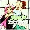 Me and my Bride of Frankenstein: [utena] JUMP JUMP