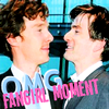Ben/David - fangirl moment