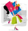 интернет-магазин для женщин, шоппинг