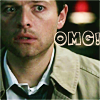 What real life? I don't know any real life!: spn - cas OMG