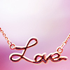allyndra: Love Necklace