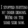 Rainy with a Chance of Mudslides...: demons