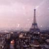 Франция, старое фото, нежно  и тонко, Париж