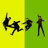 Beatles - yellow & green jump